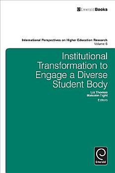 Institutional Transformation To Engage A Diverse Student Body PDF