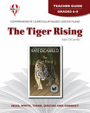 The Tiger Rising Teacher Guide Book