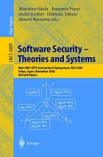 Software Security -- Theories and Systems
