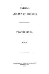 Proceedings: 1863-94