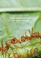 Social Entrepreneurship and Social Inclusion PDF