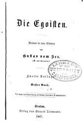 Die Egoisten: Roman in vier Bänden, Bände 1-4
