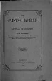 La Sainte-Chapelle du château de Chambéry