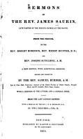 Sermons of the Rev  James Saurin PDF