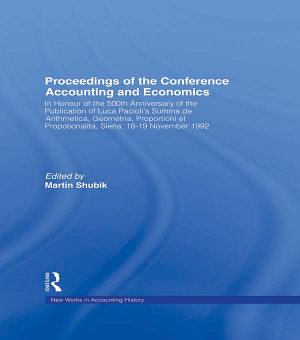 Proceedings of the Conference Accounting and Economics PDF