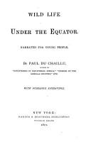 Wild Life Under the Equator PDF