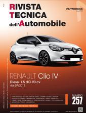 Manuale di riparazione Renault Clio IV: 1.5 dCi 90 cv - RTA257