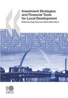 Local Economic and Employment Development  LEED  Investment Strategies and Financial Tools for Local Development PDF