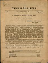 Census Bulletin: Issue 377