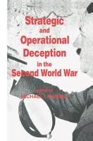 Strategic and Operational Deception in the Second World War PDF