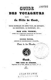Guide des voyageurs dans la ville de Gand