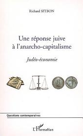 Une réponse juive à l'anarcho-capitalisme: Judéo-économie
