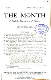 The Month: A Catholic Magazine and Review