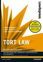 Law Express: Tort Law (Revision Guide): Edition 5