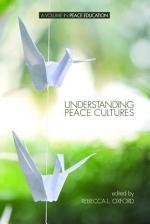 Understanding Peace Cultures