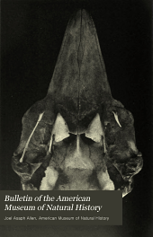 Bulletin of the American Museum of Natural History: Volume 30