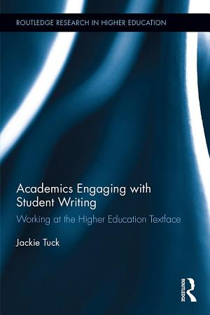 Academics Engaging with Student Writing PDF
