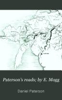 Paterson's roads; by E. Mogg