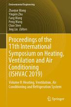 Proceedings of the 11th International Symposium on Heating  Ventilation and Air Conditioning  ISHVAC 2019  PDF