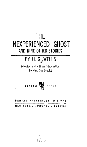 The Inexperienced Ghost and Nine Other Stories