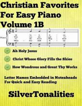 Christian Favorites for Easy Piano Volume 1 B