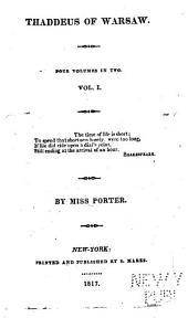 Thaddeus of Warsaw: Four Volumes in Two, Volumes 1-2