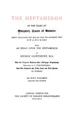 The Heptameron of the Tales of Margaret, Queen of Navarre: Volume 4