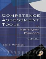 Competence Assessment Tools for Health System Pharmacies PDF