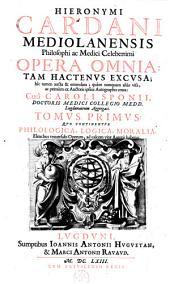Philologica, logica, moralia