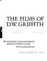 The Films of D  W  Griffith PDF