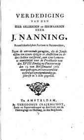 Verdediging tegen de eerrovende gerugten: Volume 1