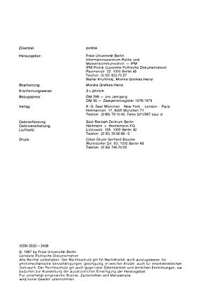 Politische Dokumentation PDF