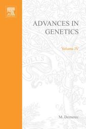 Advances in Genetics: Volume 4