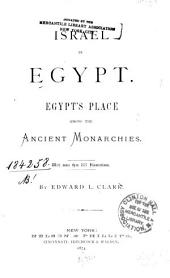 Israel in Egypt: Egypt's Place Among the Ancient Monarchies