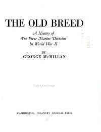 The Old Breed