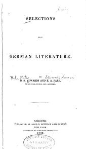 Selections from German Literature