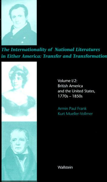 The Internationality Of National Literatures In Either America