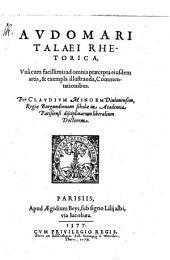 A. Talaei rhetorica libri II