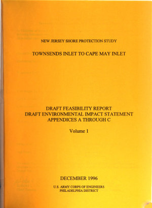 Townsend Inlet to Cape May Inlet Feasibility Study PDF