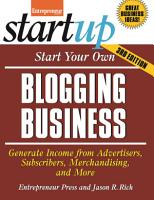 Start Your Own Blogging Business PDF