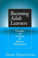 Becoming Adult Learners PDF