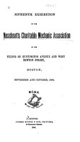 The Exhibitions and Fairs of Massachusetts Charitable Mechanic Association PDF