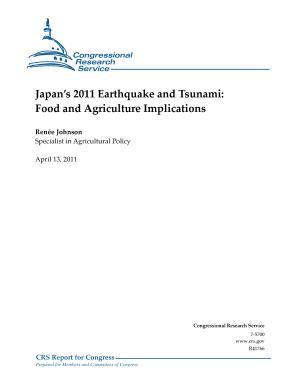 Japan's 2011 Earthquake and Tsunami