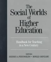 The Social Worlds of Higher Education PDF