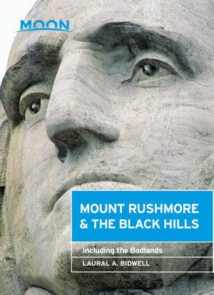 Moon Mount Rushmore   the Black Hills