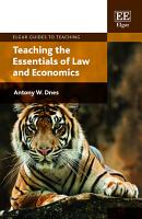 Teaching the Essentials of Law and Economics PDF