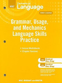 Holt Elements of Language PDF