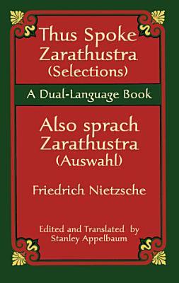 Thus Spoke Zarathustra  Selections  Also sprach Zarathustra  Auswahl