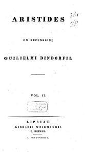 Aristides: Τόμος 2