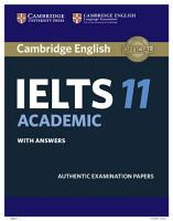 Cambridge IELTS 11 Academic Student s Book with Answers PDF